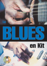 Le blues en kit à la guitare