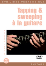 Tapping et sweeping à la guitare